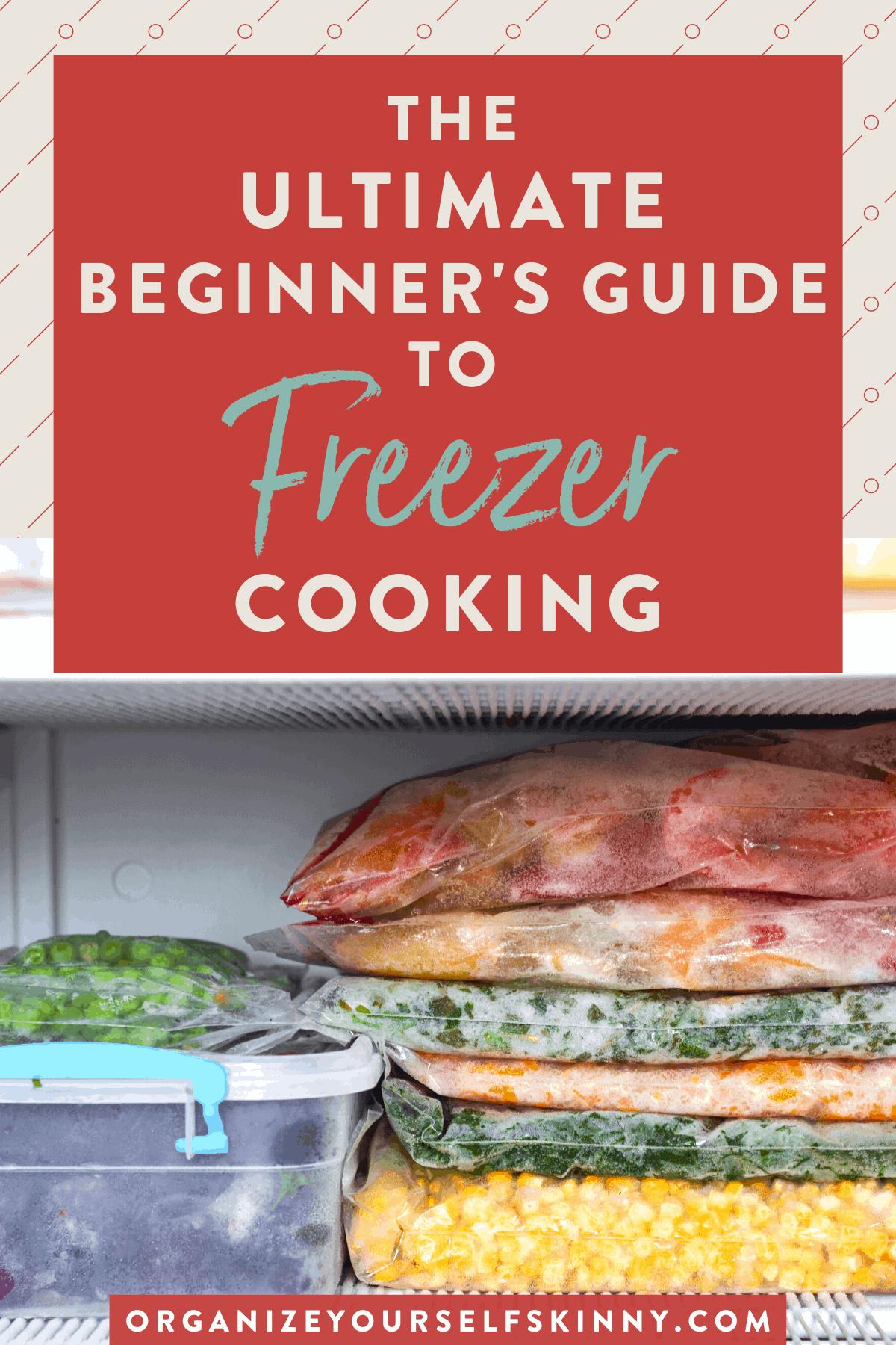 homemade freezer meals