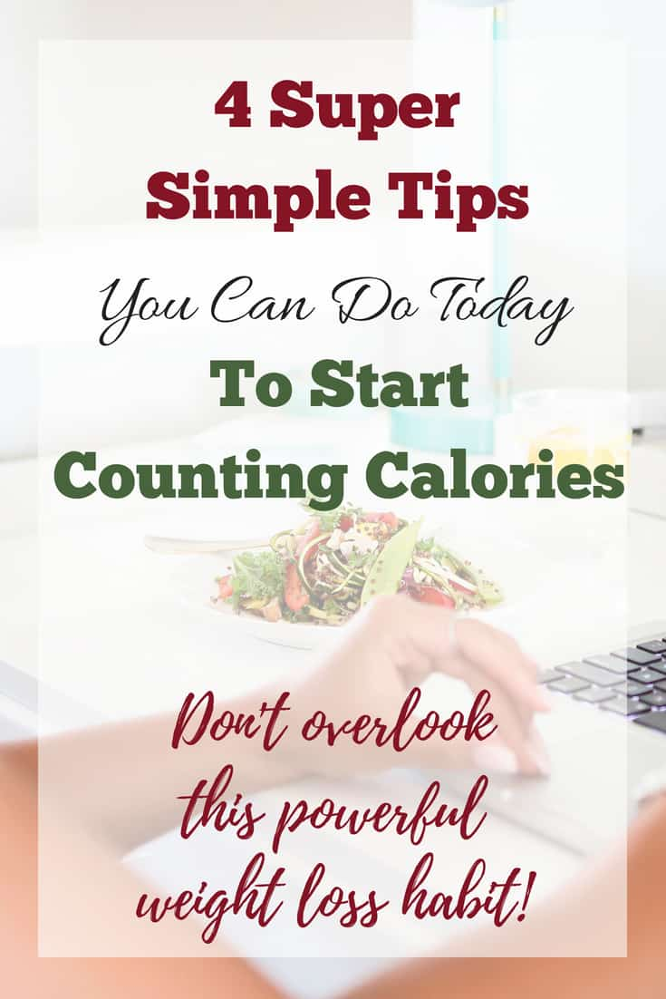 How to Count Calories for Weight Loss #weightloss Healthy weight loss advice