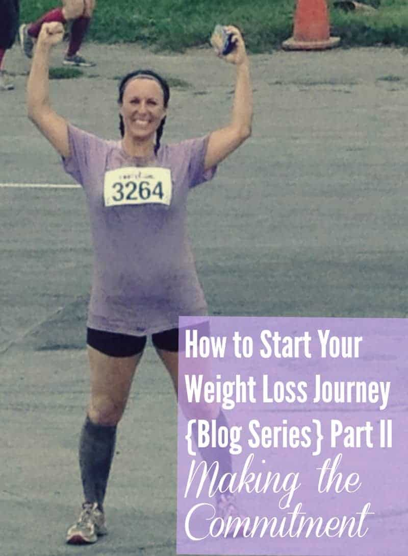 How to Start Your Weight Loss Journey (Blog Series) Part 2: Commitment