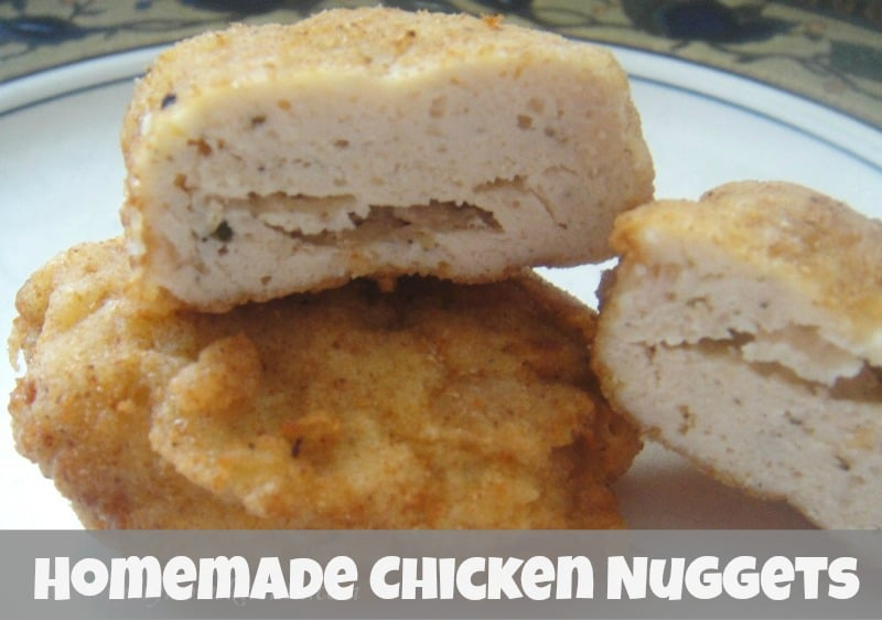 Homemade Chicken Nugget Recipe Clean Eating Friendly