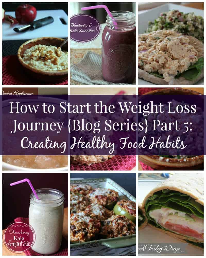 How to Start the Weight Loss Journey (Series) Part 5: Creating Healthy Food Habits