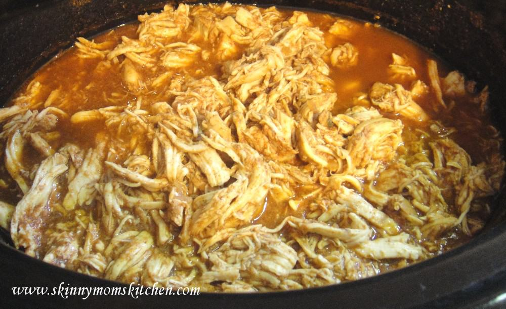 Make Ahead Meal Starters: Slow Cooker Mexican Shredded Chicken Filling