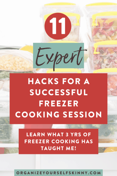 11 Tips for a Successful Freezer Cooking Session
