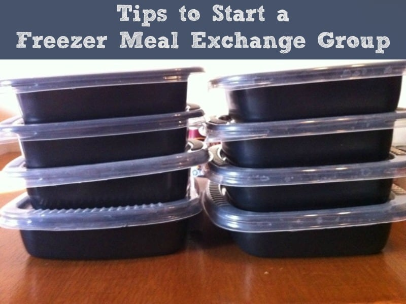 Tips for Starting a Freezer Meal Exchange Group. Freezer cooking
