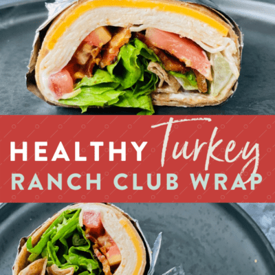 Turkey Bacon Wrap With Ranch {with video}