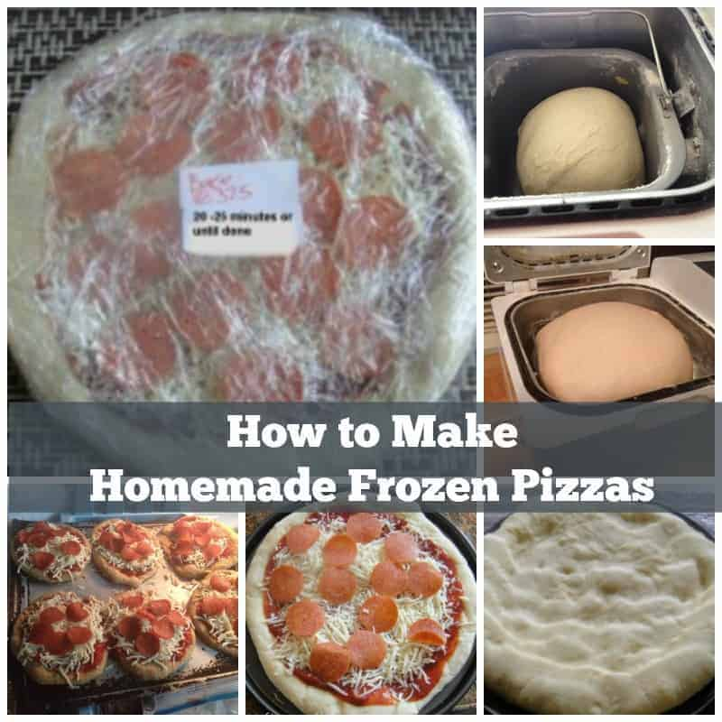 Homemade frozen pizza is a quick healthy alternative to eating or ordering out. You control the amount of salt and fat and the quality of the ingredients. Having frozen crust prepared ahead of time means you can get dinner to the table in less time than delivery can get to your door and you'll be saving money.