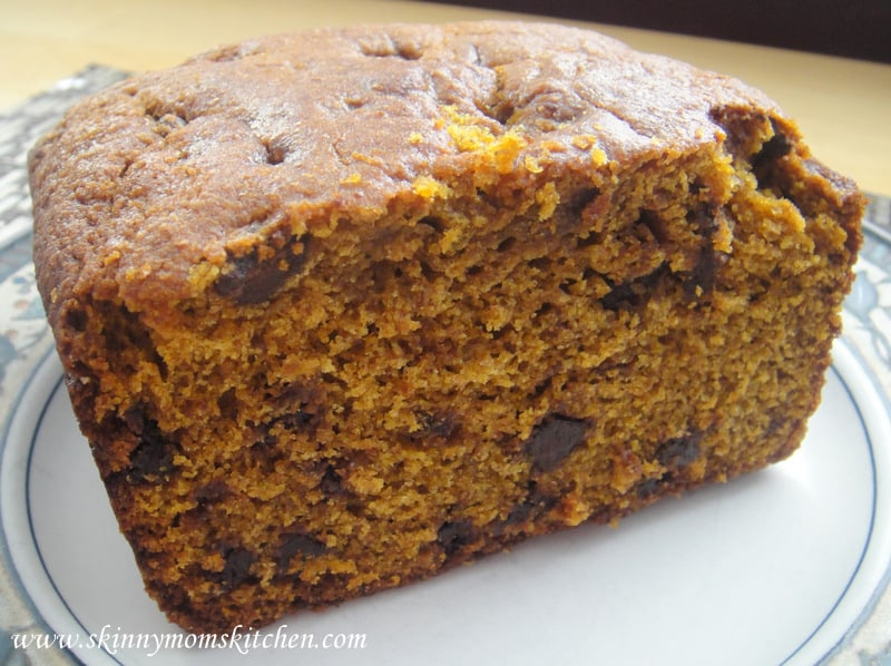 Freezer recipe pumpkin chocolate chip bread