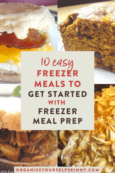 OAMC and Freezer Cooking: Get Started with These 10 Easy Recipes