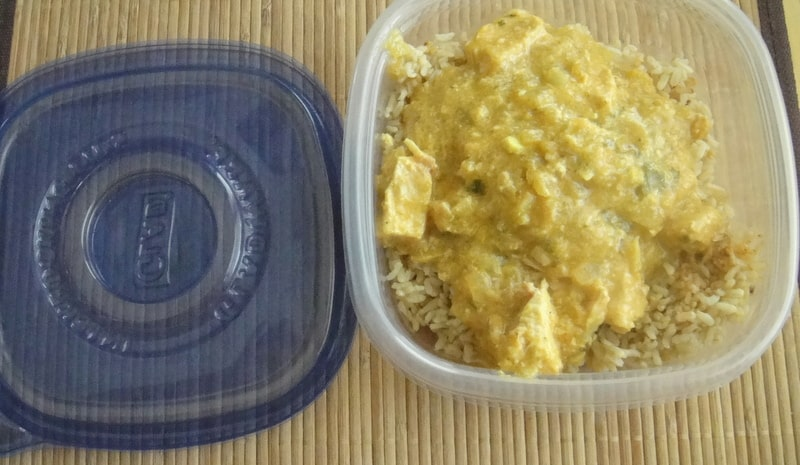 Chicken Curry Freezer Meal