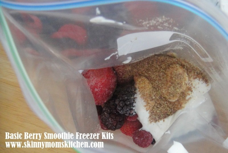 Smoothie freezer kit