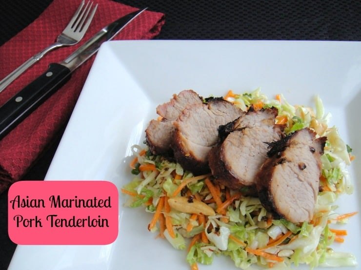 Pork Tenderloin with Asian Marinade