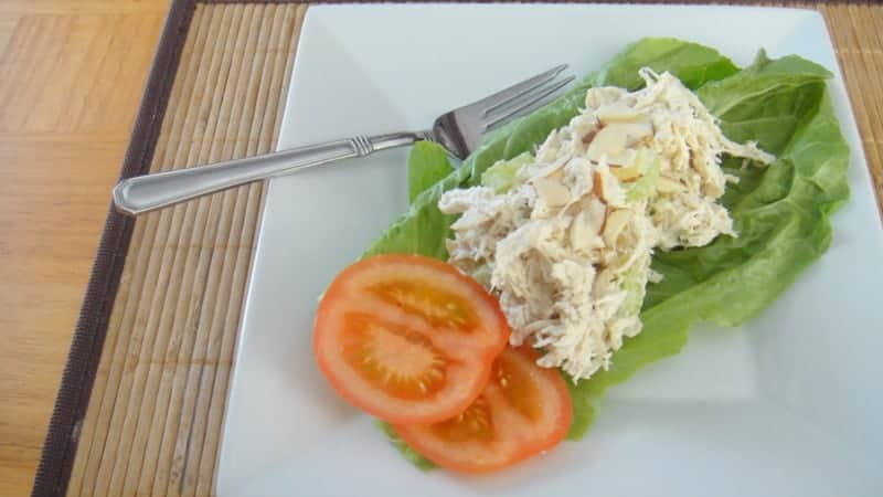 Basic Chicken Salad - Organize Yourself Skinny