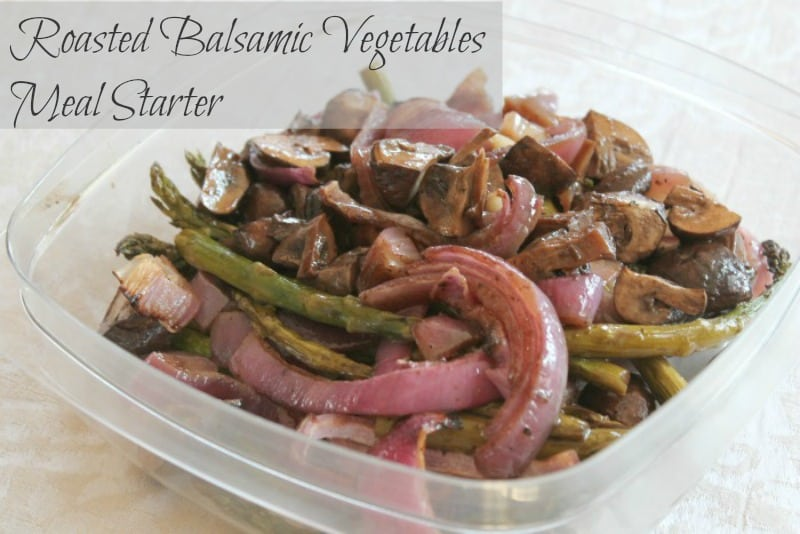Roasted Balsamic Vegetables Meal Starter