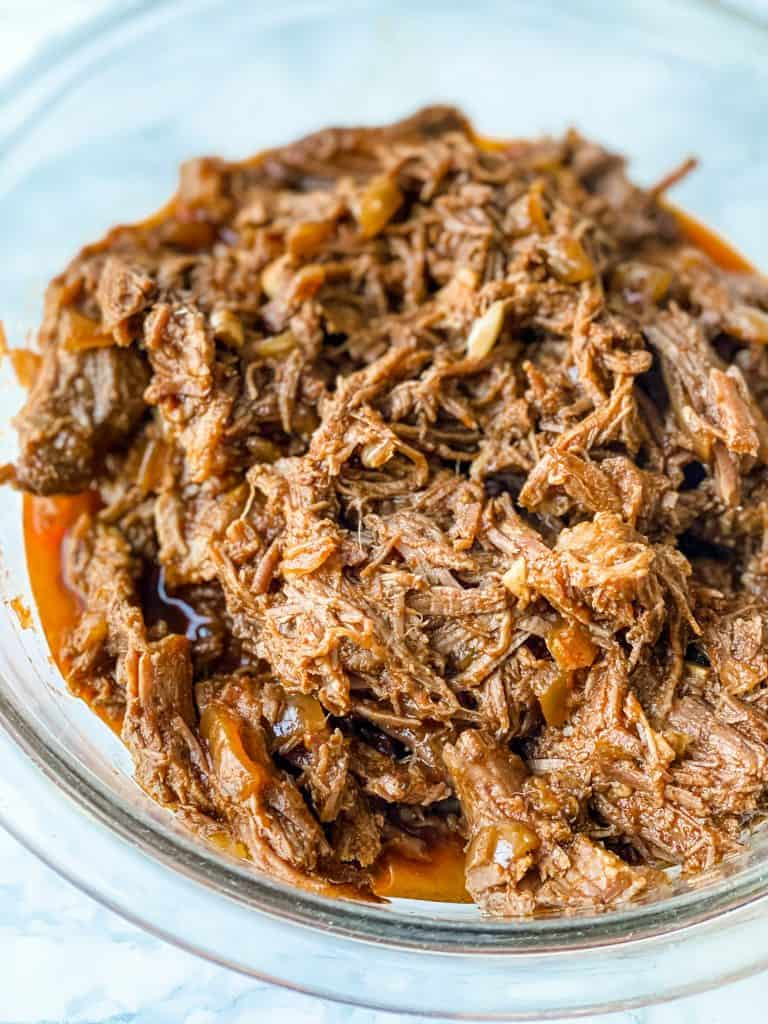 Mexican Shredded Beef ready to use in recipes