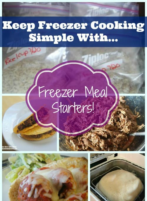 Freezer Meal Starter Recipes. Easy Freezer Recipes Round Up