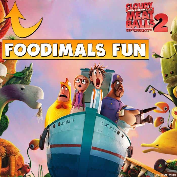 Cloudy With A Chance Of Meatballs 2 Foodimals Names
