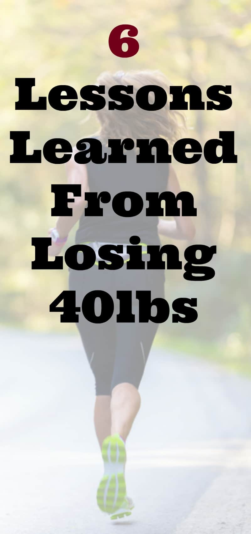 Tammy's Tuesday Weigh In: 6 Lessons I Learned From Losing 40 ...
