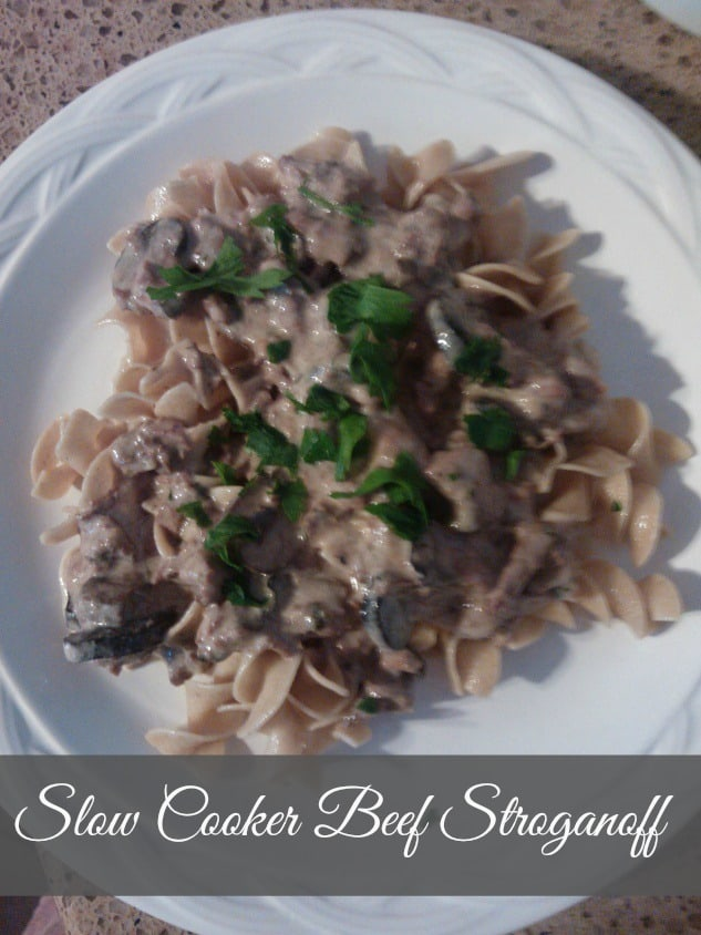 Slow Cooker Beef Stronganoff Cooking Light Recipe