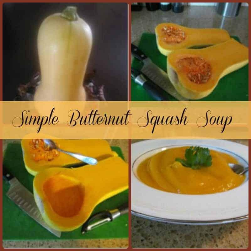 Simple Butternut Squash SoupOrganize Yourself Skinny