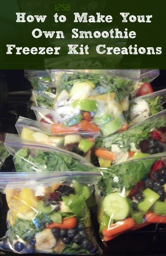 How to Make Your Own Smoothie Freezer Kit Creations