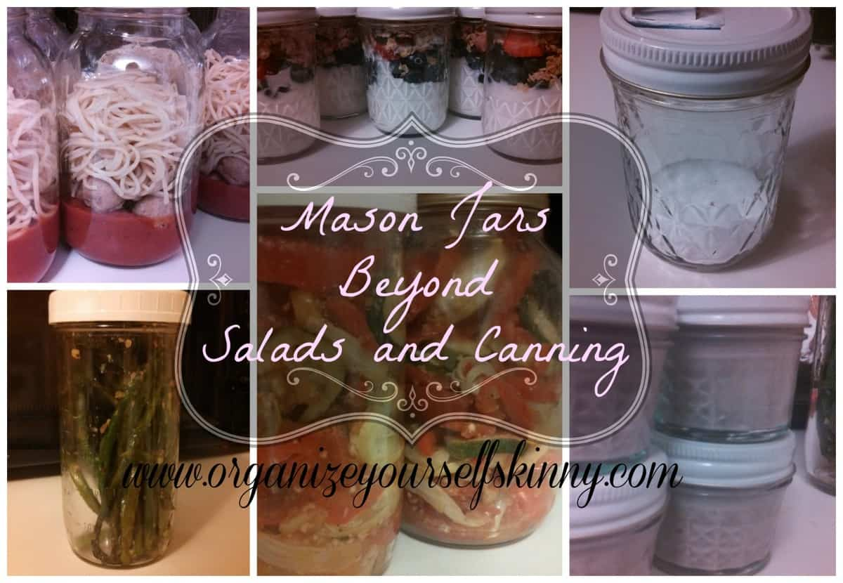 10 Things You Can Use Mason Jars For In THE KITCHEN