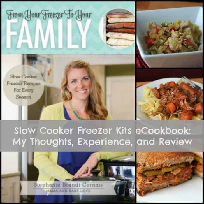 Slow Cooker Freezer Kits eCookbook: My Thoughts, Experience, and Review