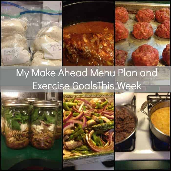 Organize Yourself Skinny Menu Plan
