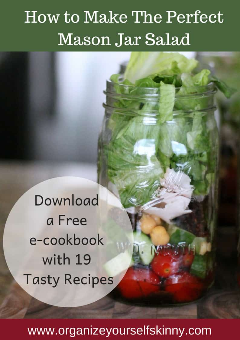 Mason Jar Salad: How To Make the Perfect Salad in a Jar Recipe!