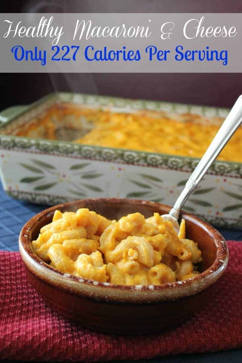 Skinny and Healthy Macaroni and Cheese Recipe - Organize Yourself ...
