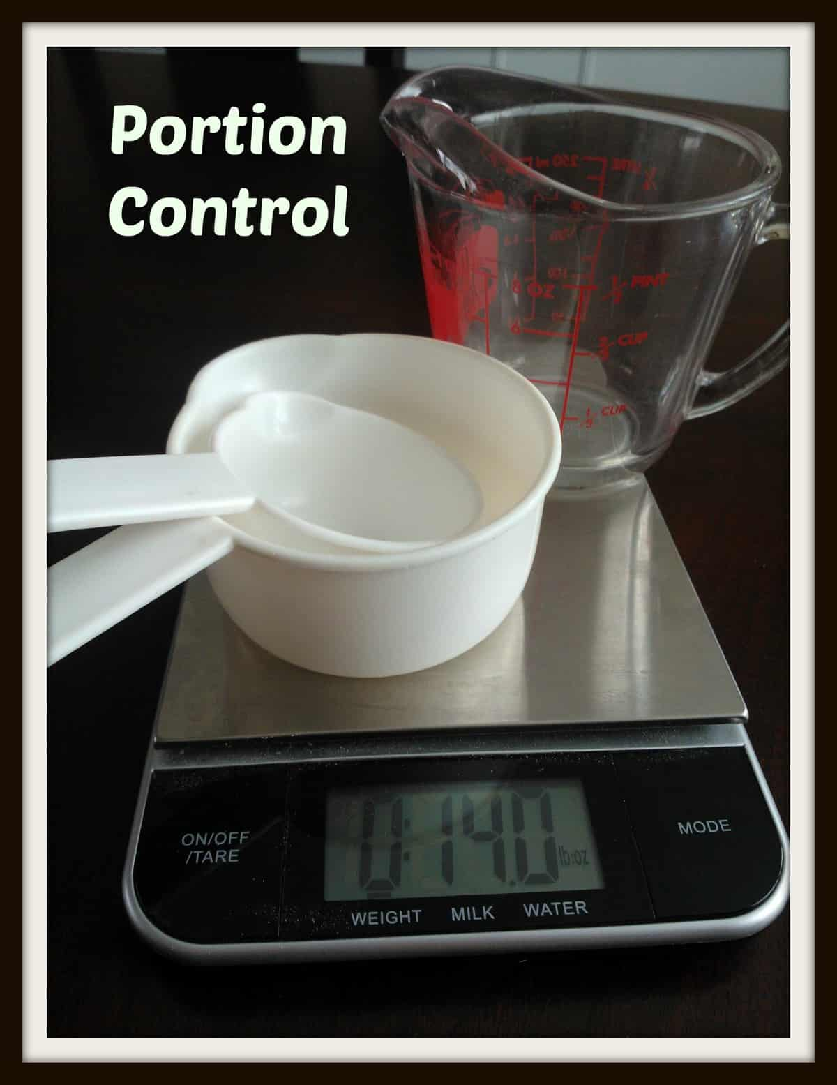 How to Control Your Portions in Restaurants #organizeyourselfskinny #portioncontrol #weightloss