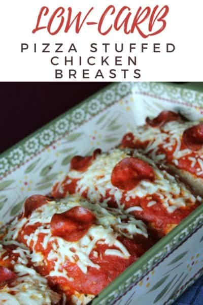 Pizza Chicken: The Best Stuffed Chicken Breast!