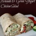 Avocado and Greek Yogurt Chicken Salad (No Mayonnaise)