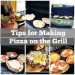 Tips for making pizza on the grill