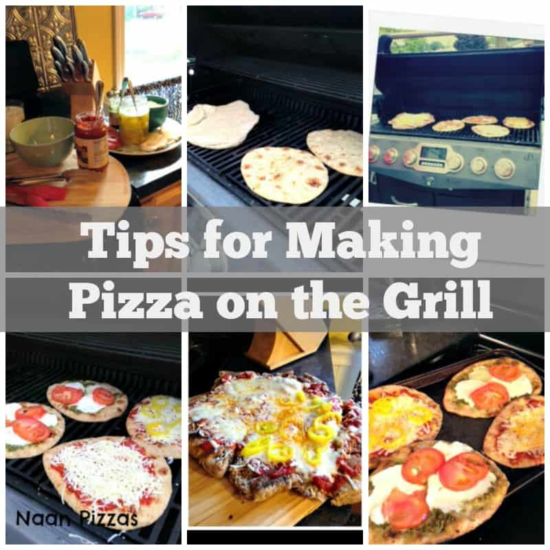 Tips for Making Pizza on the Grill - Organize Yourself Skinny