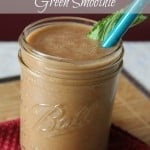 Strawberry Cucumber Mint Green Smoothie