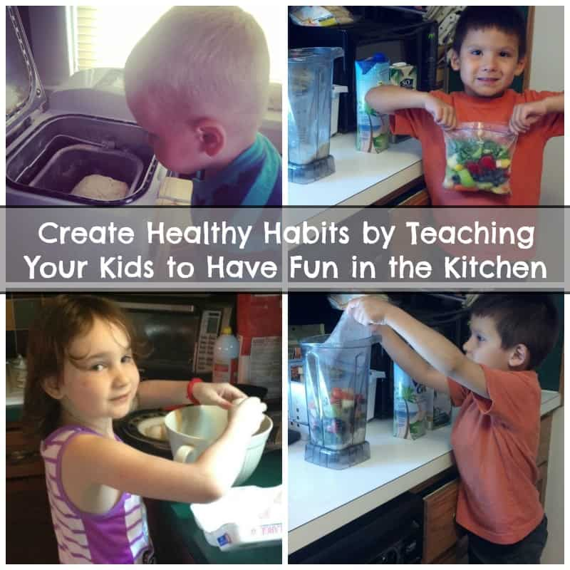 Create Healthy Habits by Teaching Kids to Have Fun in the Kitchen #BensBeginners