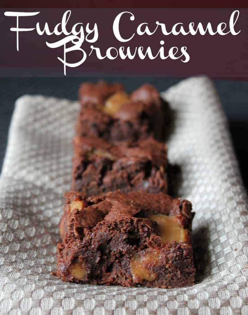 Fudgy Caramel Brownies Recipes — Dishmaps