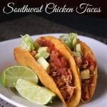 Slow Cooker Southwest Chicken Tacos
