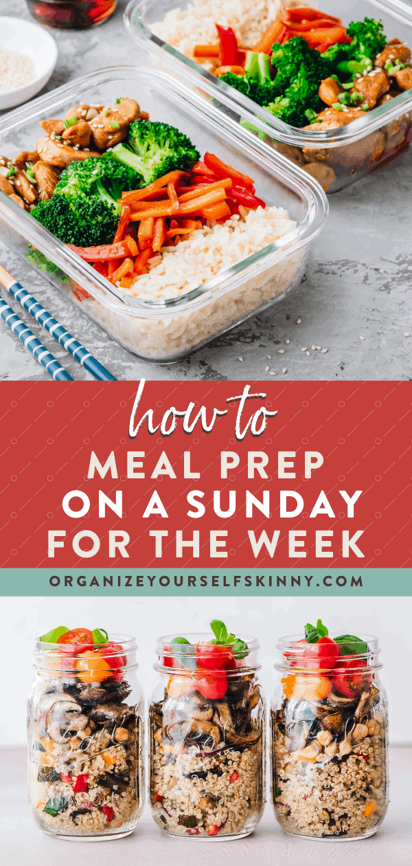 How To Do Weekly Meal Prep In One Day