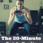 The 20-Minute Quick Cardio Routine