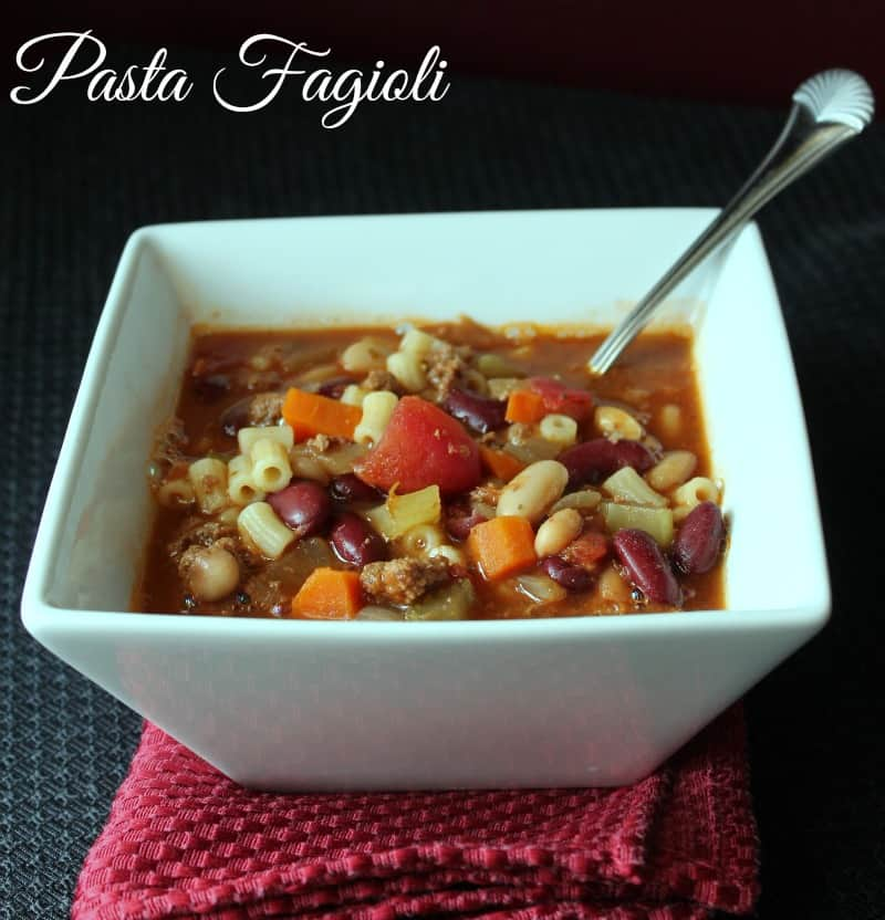 6 Dishes Health Nuts Order At Olive Garden: Pasta Fagioli {Copycat Olive Garden Recipe}