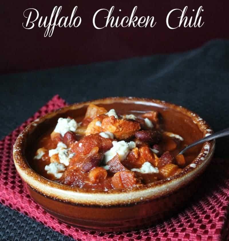 Buffalo Chicken Chili - Organize Yourself Skinny