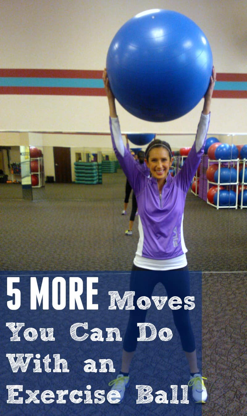 5 MORE Moves You Can Do With a Exercise Ball
