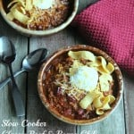 Slow Cooker Classic Beef and Beans Chili