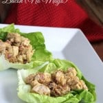 BBQ Chicken Salad with Bacon {No Mayo}