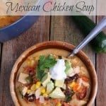Creamy and Spicy Mexican Chicken Soup