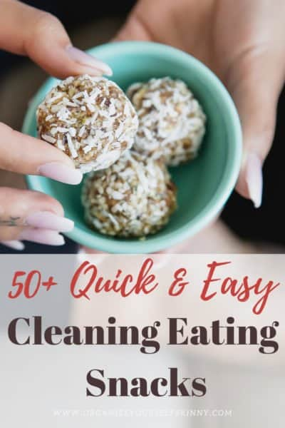 Clean Eating Snacks for Busy People on The Go!