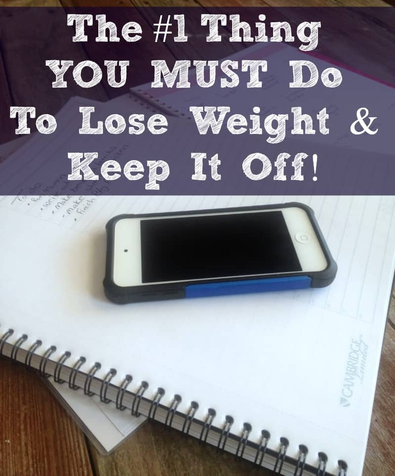 The #1 Thing You MUST DO To Lose Weight and Keep it off ...
