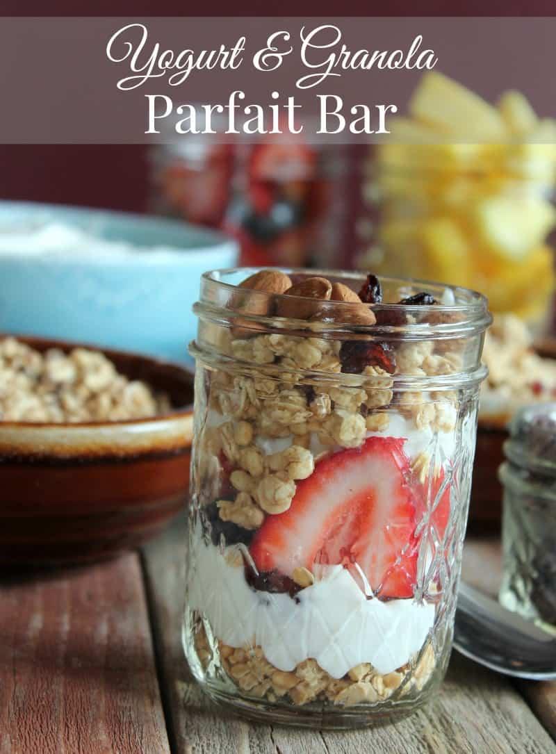 Yogurt and Granola Parfait Bar