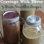 Curb Your Chocolate Cravings with these 3 Green Smoothie Recipes @lovemysilk @ilovesilksoy